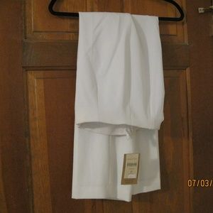 Coldwater CreekNew white lines ankle pants Size P4